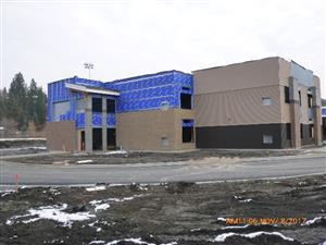 Alpine Lakes Elementary West entry