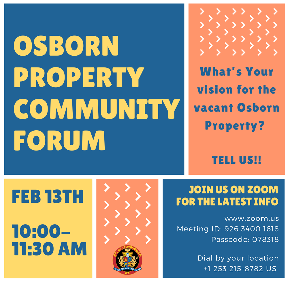 Osborn Property Community Forum