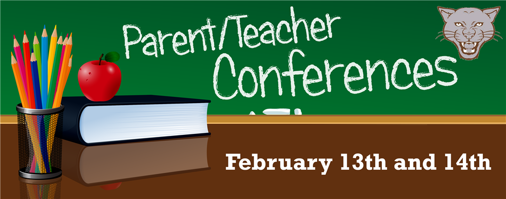 Save the date!  Conferences for Grades K-8 are coming up. Feb 13th there is no school for grades K-5 and Feb 14th there is no school for grades K-8.