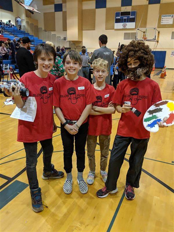 FIRST Lego League Robotics Team heading to State